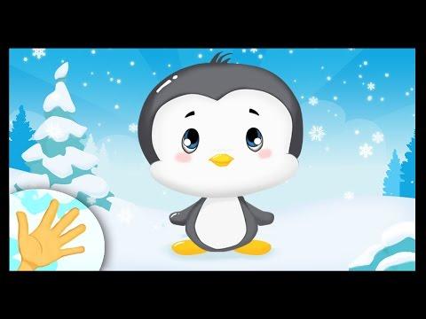 Comptinette du pingouin - comptine à gestes