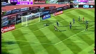 أهم لقطات مباراة الأهلى وسموحة-www.goalFmradio.com