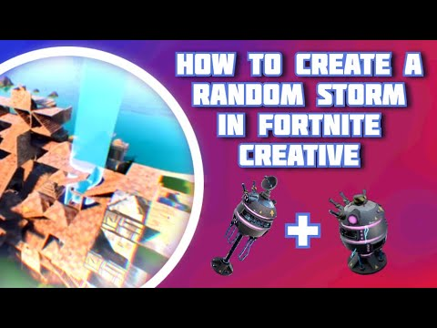 How To Create A Random Storm In Fortnite Creative (Tutorial By Zone Wars LTM Creator!)