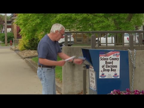 Ohio voters struggle to get their ballots in on time It's a mail-in or drop-off election this year., From YouTubeVideos