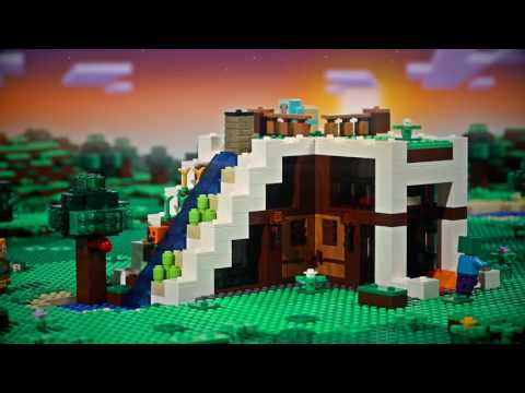 Knock Knock - LEGO Minecraft - Stop motion video