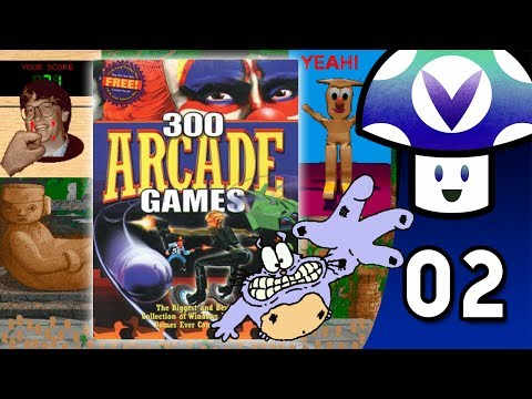 [Vinesauce] Vinny - Cosmi Software: 300 Arcade Classics (part 2)