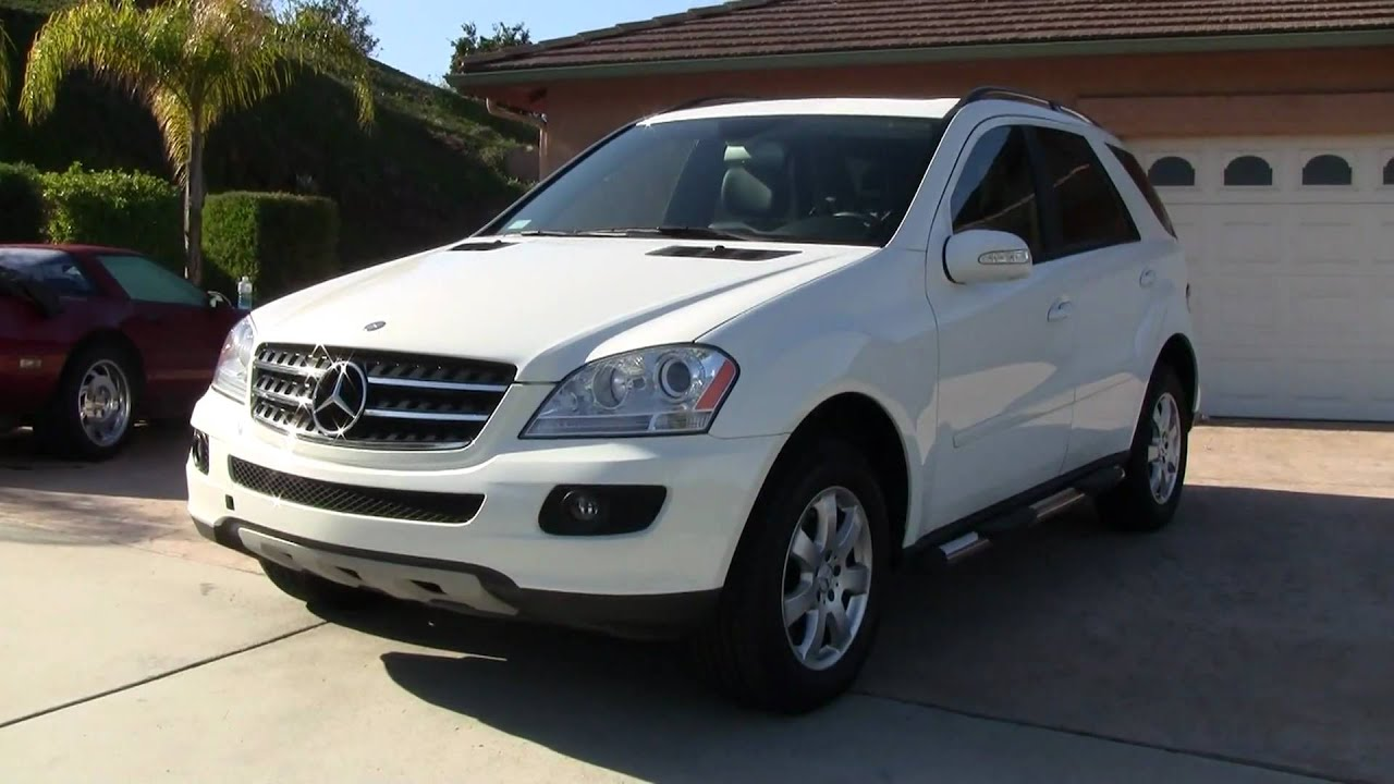 2007 mercedes benz ml320 turbo diesel w164 cdi bio for 2007 mercedes benz suv