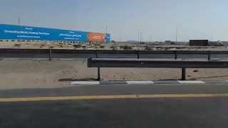 Dubai Dip to IBN Battuta Metro station