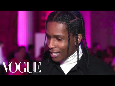 Thumbnail: A$AP Rocky on Wearing Jeans to the Met Gala | Met Gala 2017