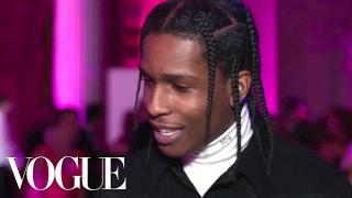 A$AP Rocky on Wearing Jeans to the Met Gala | Met Gala 2017