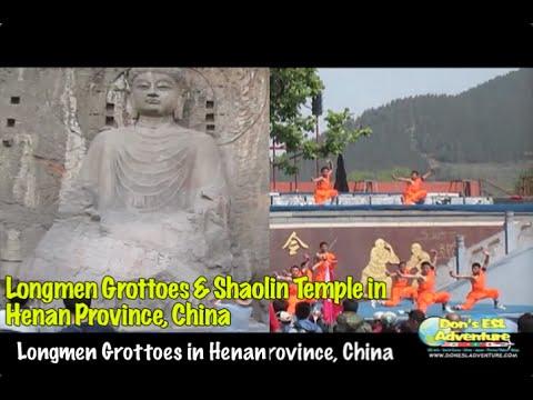 Longmen Grottoes & Shaolin Temple in Henan, China! | Don's ESL Adventure!