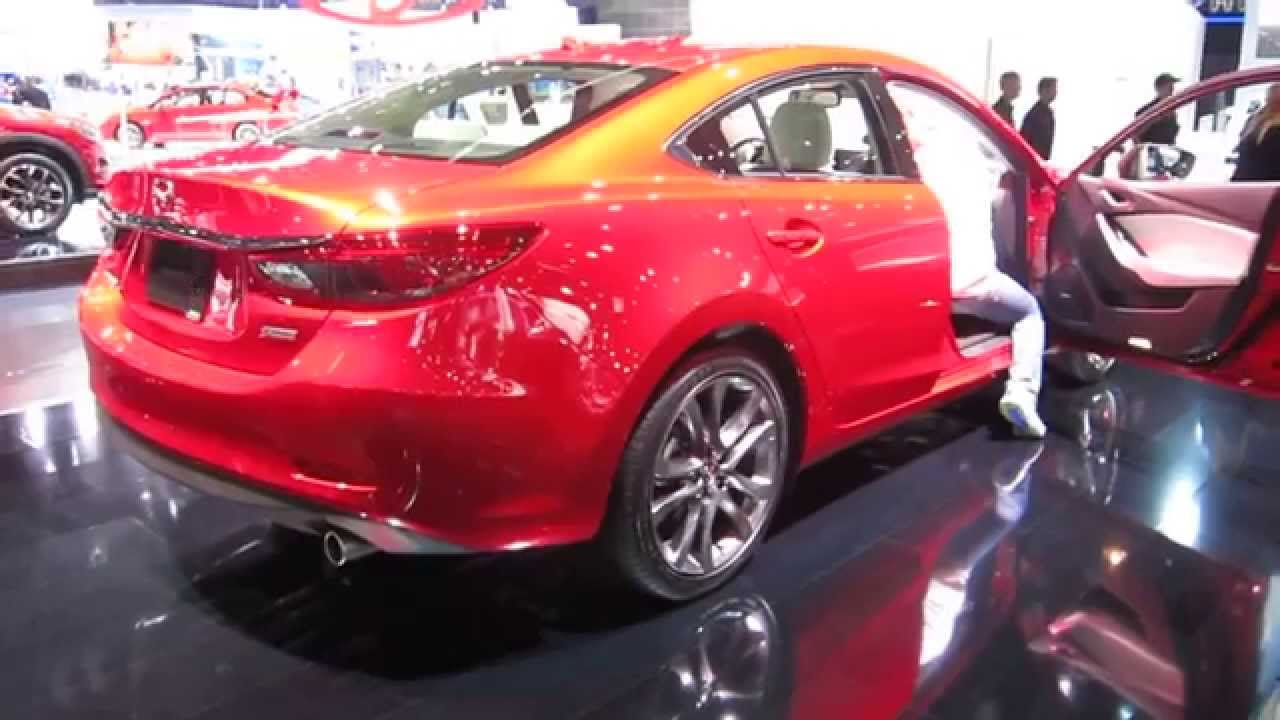 2016 mazda 6 i grand touring world premiere at la aut doovi. Black Bedroom Furniture Sets. Home Design Ideas