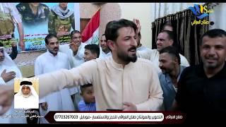 استقبال مهيب للحاج السيد راضي الغريفي/ بعده عودته من بيت الله الحرام/ استقبال رهيب / لايفوتكم