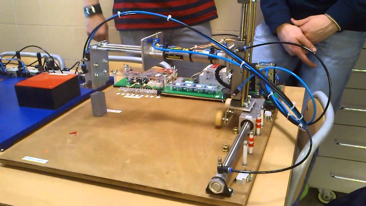 Proyecto Tecnología (II): Máquina aparcabicicletas - YouTube