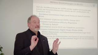 [DE] Aktuelles zu Rechtsfragen  | Dr. Ulrich Kampffmeyer | Vortrag 4 | UpdateIM18 Berlin