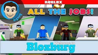 Roblox Welcome to Bloxburg New Jobs!! How to have more than one job in Roblox Bloxburg