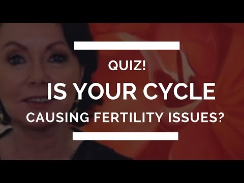 Quiz! Is your cycle causing you fertility problems?