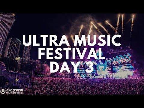 Ultra Music Festival 2017- Day 3 Vlog