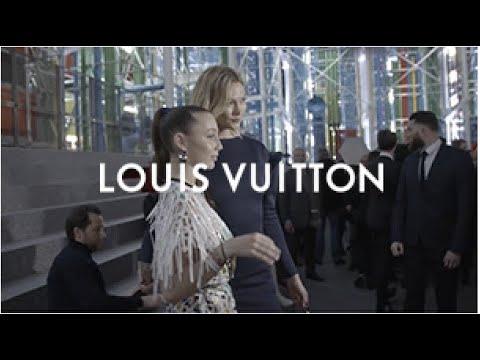 Karlie Kloss Emma Chamberlain For The Louis Vuitton Fall Winter