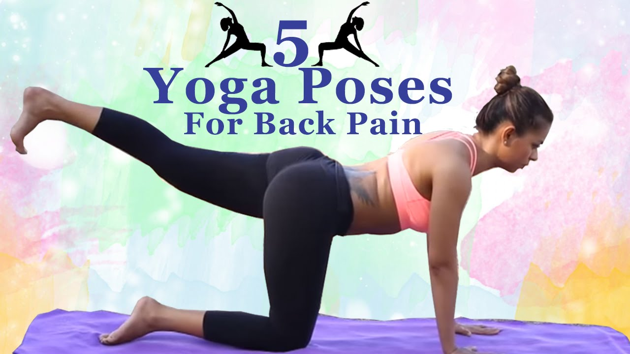 Yoga Poses for Back Pain | 5 Yoga Exercises To Relieve ...