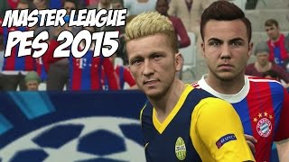 PES 2015 - Master League: Reus,Götze,Neuer,Čech,Ribéry,Robben,Saviola (Semifinais da Champions)