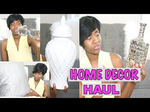 AFFORDABLE HOME DECOR HAUL | DECORATING ON A BUDGET