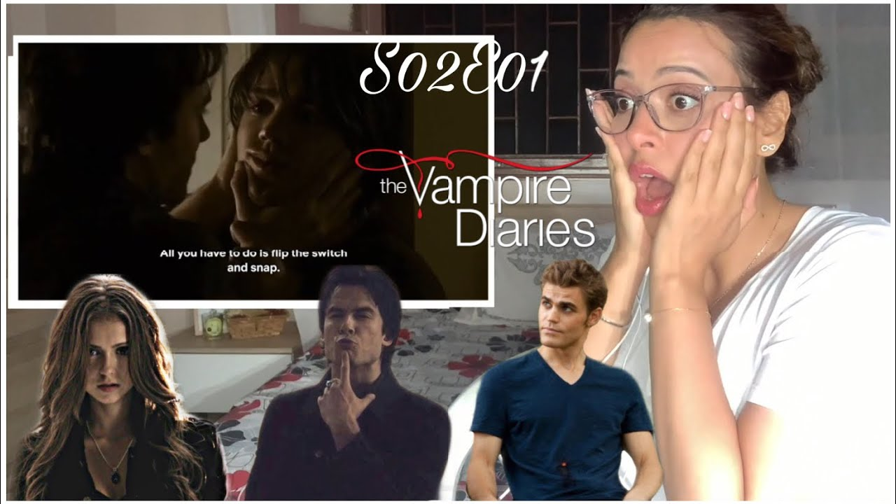 Download The Vampire Diaries - S02E01 'The Return' |♡First time Reaction&Review♡