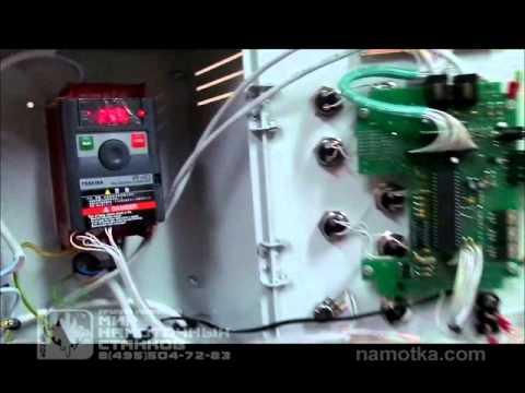 видео: Перемотка провода на станке с антивандальным БУ