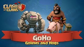 How to GoHo at Town Hall 8 -- Clash of Clans 3 Star Attack Strategy