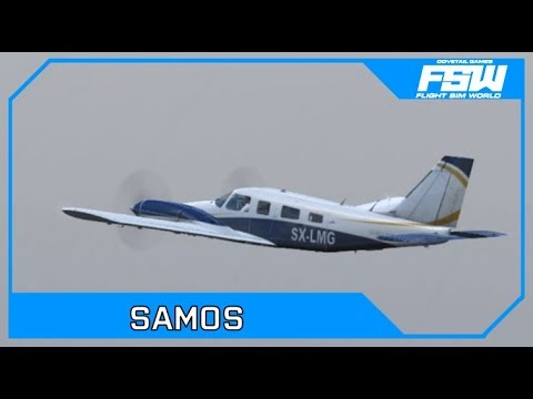 Drawyah plays Flight Sim World - Samos|Episode 4