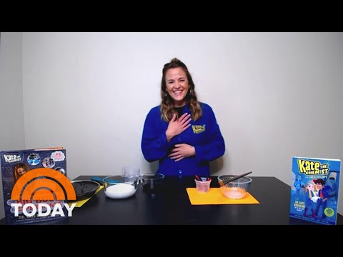 Kate The Chemist On How To Make Magnetic Slime At Home | TODAY