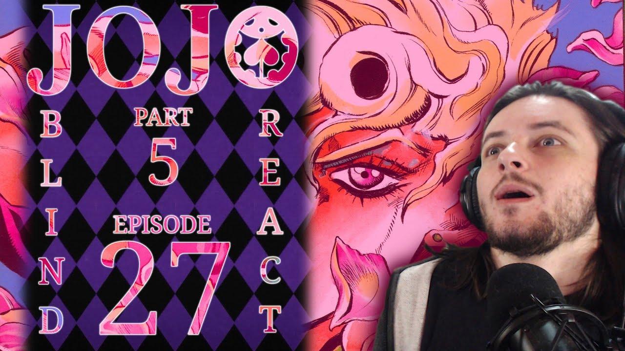 Download Teeaboo Reacts - Jojo's Part 5 Episode 27 - Disposable Heroes