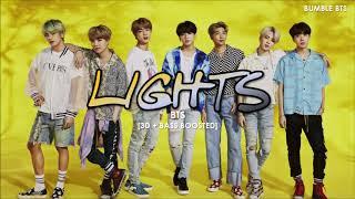 [3D+BASS BOOSTED] BTS (방탄소년단) - LIGHTS | bumble.bts