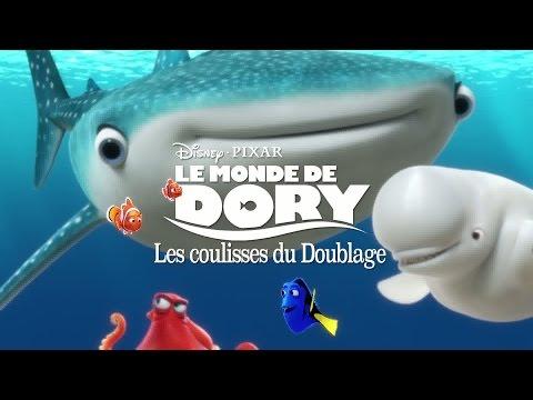 Le Monde de Dory - Making-of : Doublage avec les voix françaisesde YouTube · Durée:  1 minutes 55 secondes