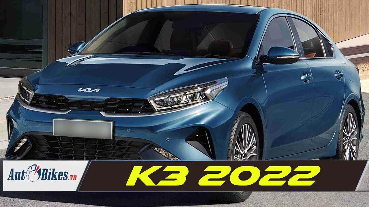 Kia K3 2022 sắp ra mắt tại Việt Nam, có sạc không dây, khởi động từ xa, sưởi, làm mát ghế trước...