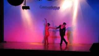 Comadreja Salsa Congress 2013 ~ Evelyn Trejo & Gabriel Alvarez (bachata)