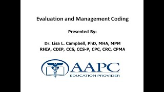 Introduction to Evaluation and Management Coding