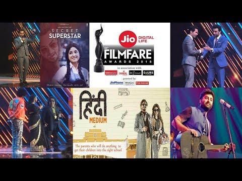 Jio Filmfare Awards 2018 Winners || 63rd Jio Filmfare Awards 2018 | Rajkummar, Vidya Balan, Newton |