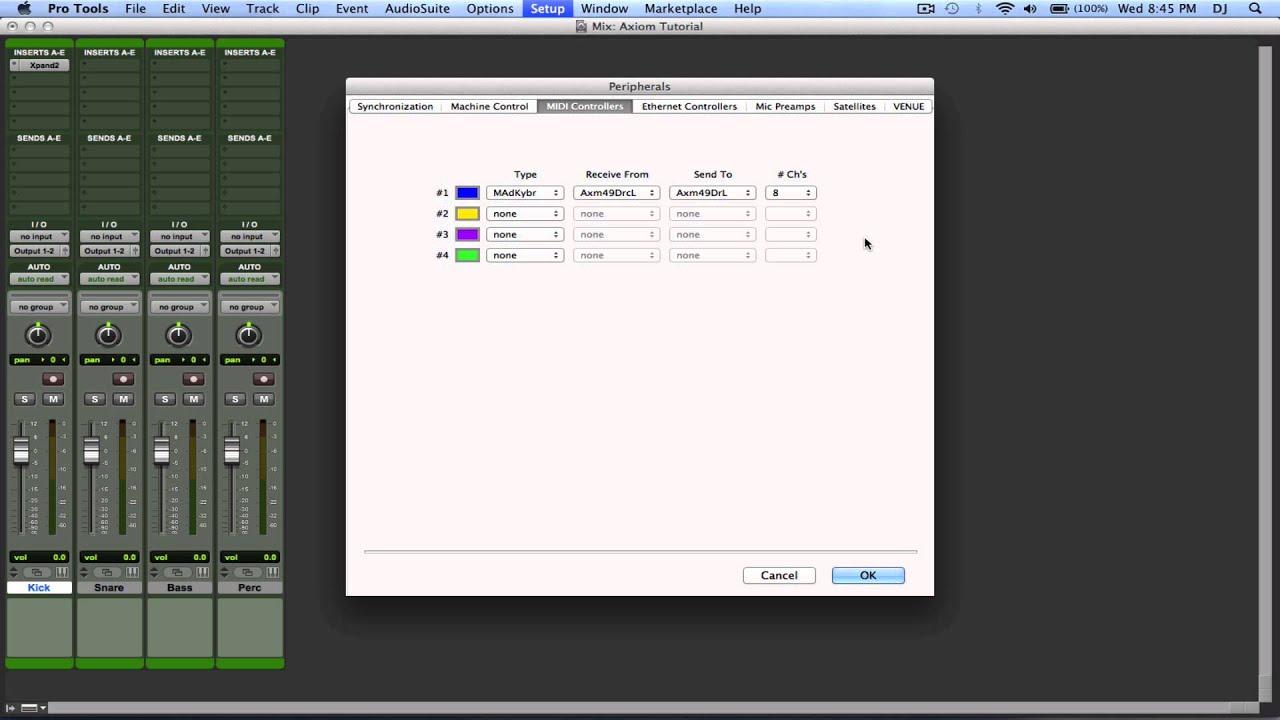 midi controller pro tools youtube