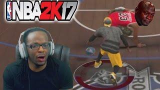 Nba 2k17 my park gameplay - i broke michael jordan's ankles!
