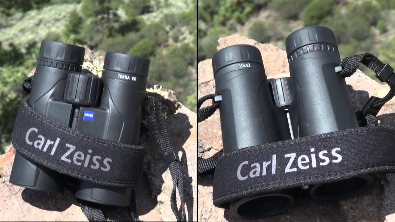 Sportsmans news review: zeiss terra ed binoculars youtube