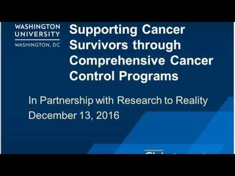 Supporting Cancer Survivors through Comprehensive Cancer Control Programs