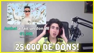 J'AI REÇU 25,000 EUROS DE DONS DE LA PAR D'AMHAI ?