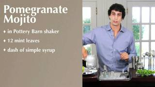 How To Make A Pomegranate Mojito | Pottery Barn