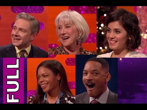 The Graham Norton Show FULL S20E12: Will Smith, Dame Helen Mirren, Martin Freeman, et al.