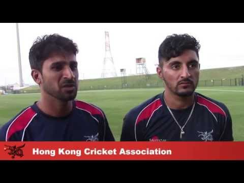 T20i HKGvAFG: Post Match Interview with Tanwir and Nizakat