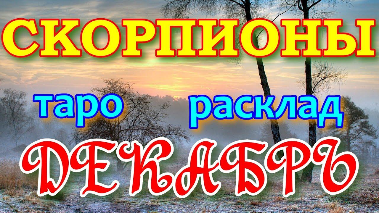 ГОРОСКОП СКОРПИОНЫ НА ДЕКАБРЬ МЕСЯЦ.2020