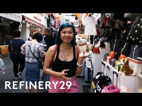 I Went On A Shopping Haul In South Korea | Beauty With Mi | Refinery29 thumbnail