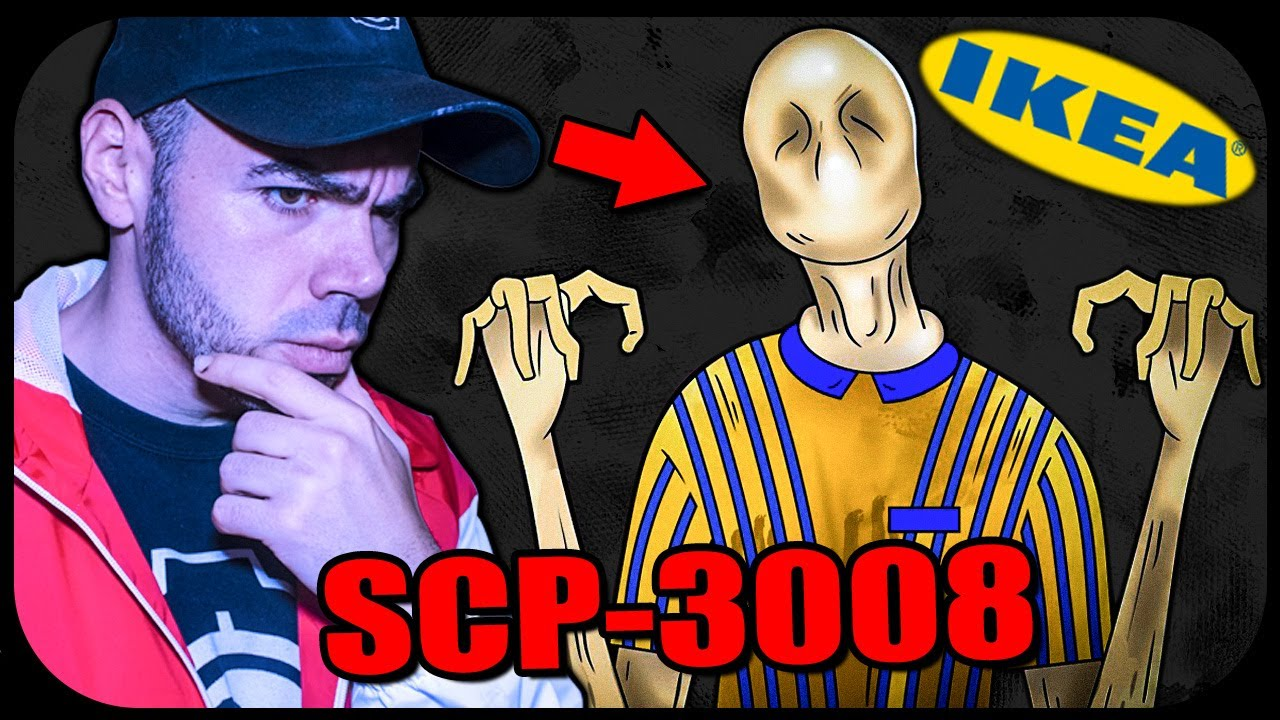 NON ENTRARE IN QUESTO NEGOZIO IKEA 😨 SCP 3008 *spaventoso*