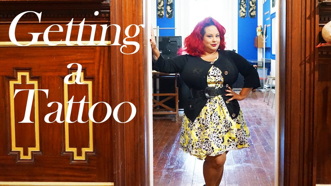 Getting a tattoo at the James St Parlour- Syracuse NY - YouTube