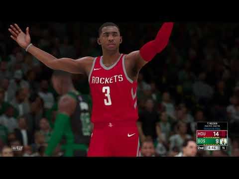 NBA 2K18 Al Horford is a god