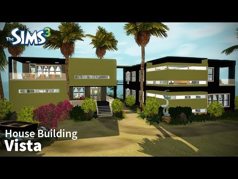 The Sims 3 House Building - Vista