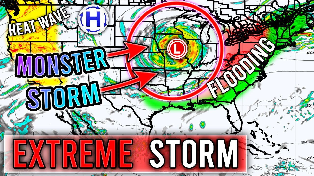 Upcoming Monster Storm... Severe Weather Outbreak, Extreme Weather, Flooding