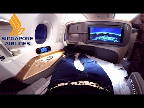 Singapore Airlines BUSINESS CLASS Hong Kong to Singapore|Airbus A350-900